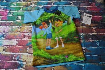 Bibi und Tina T-Shirt mit kurzen Ärmeln-Freundschaft