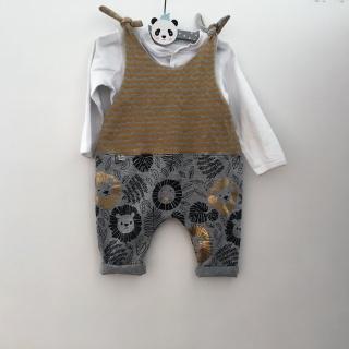Baby Overall  **LÖWENBÄNDIGER**  vom zimtbienchen