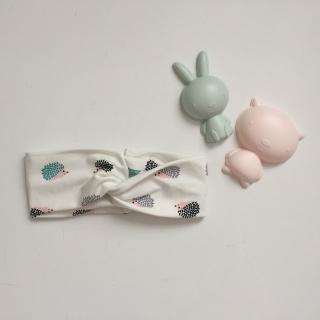 Kinder Turbanstirnband * IGEL* Haarband vom zimtbienchen  KU 42 - 54cm  - Handarbeit kaufen