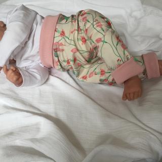 Mitwachshöschen  **KOLIBRI**  Gr.50-80 Baby / Kind