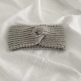Baby Stirnband gestrickt  ** CAROLI ** KU  40-45cm viele Farben