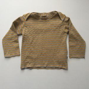 Baby  * BASIC * Shirt T-Shirt mit Langarm Handarbeit von zimtbienchen aus BIOBaumwolle