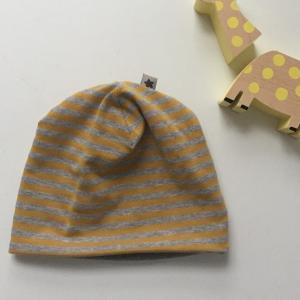 Wendebeanie  ** BASIC ** Mützchen aus BIOBaumwolle von zimtbienchen verschiedene Größen   - Handarbeit kaufen