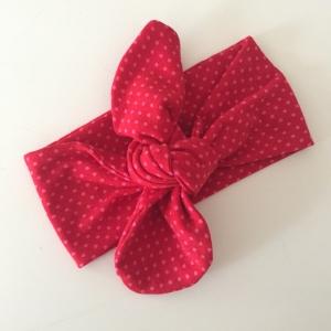 Haarband Stirnband *DOTTI* 3 Größen vom zimtbienchen  Baby - Kind  - Handarbeit kaufen