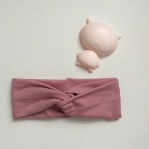 Kinder Turbanstirnband * UNI * Haarband vom zimtbienchen  KU 42 - 54cm   - Handarbeit kaufen