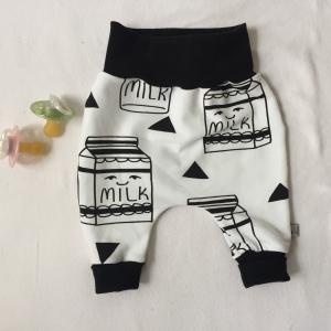 Mitwachshöschen  * MILKY *  44-80 Baby / Kind BIO  handmade vom zimtbienchen