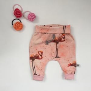 Pumphose Mitwachshose FLAMINGO handmade von zimtbienchen Gr.44-80 Baby / Kind     - Handarbeit kaufen