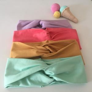 Kinder Turbanstirnband * EISEISBABY * Haarband vom zimtbienchen  KU 40 - 54cm