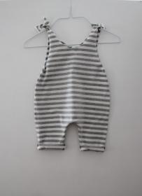 JOLLY Baby Kind Overall Jumper Romper  aus Baumwolljersey 5 Farben vom zimtbienchen für Mädchen und Jungen bis Größe 104