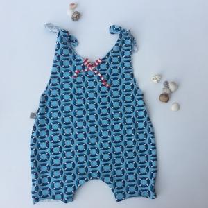 Baby Kind Overall Jumper Romper  aus Baumwolljersey vom zimtbienchen für Mädchen und Jungen bis Größe 104  - Handarbeit kaufen