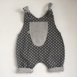 SUPERSTAR Baby Kind Overall Jumper Romper  aus Baumwollsweat vom zimtbienchen für Jungen und Mädchen