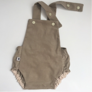 Latzhose  BABYCORD Jumper Spieler Romper für Baby und Kind vom zimtbienchen 50/98  Romper  3 Farben - Handarbeit kaufen