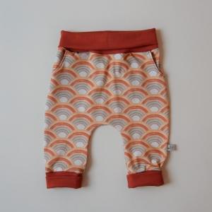 Mitwachshöschen mit REGENBOGEN von zimtbienchen Gr. 44 - 98  Baby / Kind      - Handarbeit kaufen