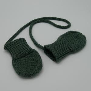 ZWERGLEIN Handschuhe für Baby  Fäustlinge handgestrickt von zimtbienchen