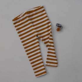 LEGGING Modell STREIFEN vom zimtbienchen Gr. 44 - 98 Höschen Baby / Kind kaufen