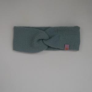 Dustymint Stirnband mit Twist CAROLIN double zimtbienchen Turban für Mädchen