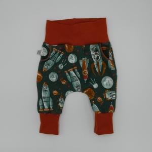 ASTRONAUT Mitwachshose von zimtbienchen Gr. 50 - 92 Baby / Kind     - Handarbeit kaufen