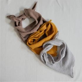 Halstuch MUSSELIN  für Baby und Kind genäht vom zimtbienchen zum wenden  - Handarbeit kaufen
