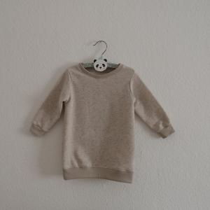KONFETTI Longsweater oder Kleid mit Langarm  Kind Handarbeit von zimtbienchen    - Handarbeit kaufen