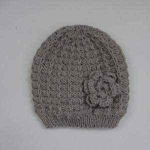 Mütze Modell SVENJA  Kind  handgestrickt von zimtbienchen ab 1 - 3 Jahre - Handarbeit kaufen