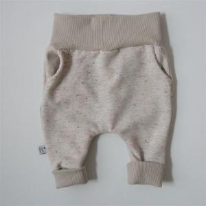 KONFETTI Mitwachshose aus Kuschelsweat von zimtbienchen Gr. 50 - 92  Baby / Kind     - Handarbeit kaufen