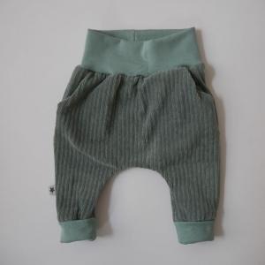 Mitwachshose aus CORDJERSEY von zimtbienchen Gr. 50 - 92  Baby / Kind     - Handarbeit kaufen