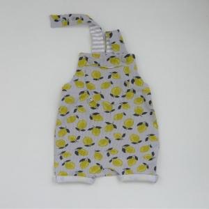 ZITRONE kurze Latzhose Jumper trendy für Baby und Kind vom zimtbienchen 44/74  kaufen - Handarbeit kaufen