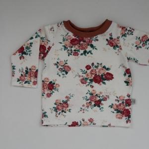 ROSEN BASIC  Langarmshirt Baby Kind zimtbienchen Handarbeit  kaufen  - Handarbeit kaufen