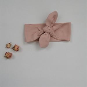 Baby Kinder Haarband Stirnband LACHS 3 Größen zimtbienchen - Handarbeit kaufen