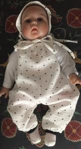 Jumper aus Musselin für Baby und Kinder