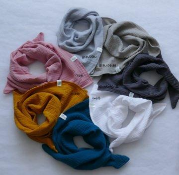 Musselin Tuch für  Baby und Kinder 55x55 cm.