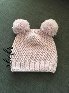 Handgestrickte Mütze  Rebecca für kalte Tagen
