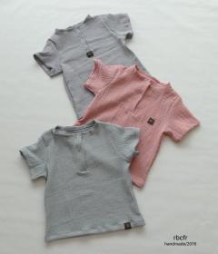 Musselin T-Shirt Größe 62-68