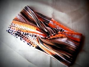 Turban-Stirnband selbstgefertigt aus biologisch zertifizierten Stoffen/Webware (Kopie id: 100159665) (Kopie id: 100161266)