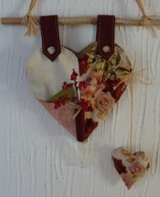 ♡ kleiner Wandbehang  - Handarbeit kaufen