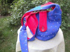 rot-blauer  Wendebeutel