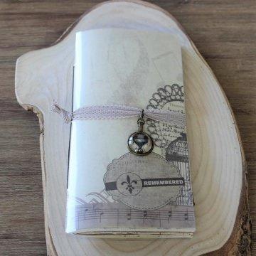 Ein Art-Journal, Notizheft, Erinnerungsbuch, Junkjournal, Travelers insert.Wie auch immer man es nennen mag,es ist ein  wunderbares Sammelsorium an div.Papier