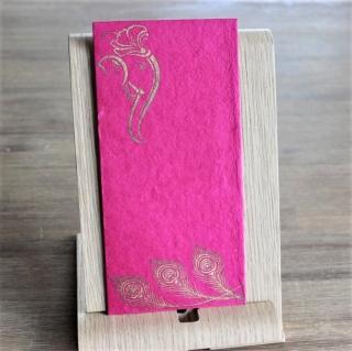 Handgeschöpfte indische Briefumschläge, ideal als besondere Verpackung für das  Geldgeschenk zu Hochzeiten, Geburtstage und weiteren Anlässen