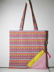 Einkaufstasche/Umhängetasche zum Shoppen, mit Aufbewahrung