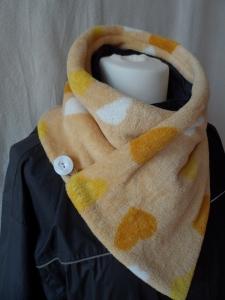 Kurzschal ♥ Wickelschal ♥ Fleece ♥ Handmade♥