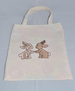Kindertasche ♥ Wendetasche ♥ Stofftasche ♥ Ostertasche ♥ bestickt - Handarbeit kaufen