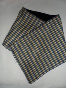 Kurzschal ♥ Wickelschal ♥ Fleece ♥ Handmade - Handarbeit kaufen