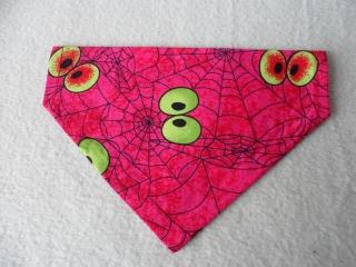 Hundehalstuch ♥ Wendehalstuch ♥ Größe M ♥ pink ♥ Handmade   - Handarbeit kaufen