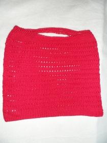 Einkaufsnetz, Einkaufstasche, gestrickt, Handmade    - Handarbeit kaufen