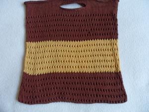 Einkaufsnetz, Einkaufstasche, gestrickt, Handmade