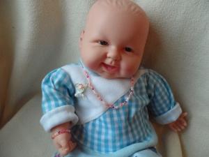 Puppenset Halskette und Armband - Handarbeit kaufen