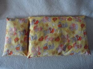 Puppenbettwäsche, 2tlg., Bettdecke und Kissen  - Handarbeit kaufen