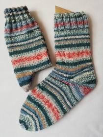 Socken, handgestrickt,  Regia 3657, verschiedene Größen möglich (Gr. 36/37 - 44/45), aus 6-fädiger Sockenwolle - Handarbeit kaufen