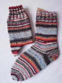Socken, handgestrickt,  Regia 3655, verschiedene Größen möglich (Gr. 36/37 - 44/45), aus 6-fädiger Sockenwolle - Handarbeit kaufen