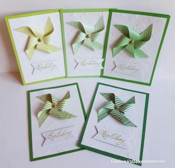 ♥Einladungskarten Kindergeburtstag♥Schulanfang♥5er Set♥ Nr.461